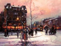 Picturi cu peisaje Pariziana 5