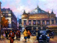 Picturi cu peisaje Pariziana 6