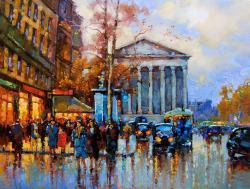 Picturi cu peisaje pariziana 8