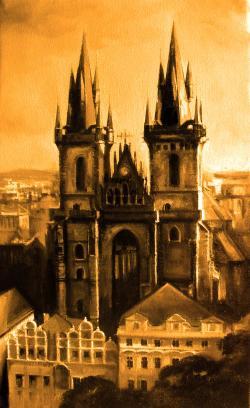 Picturi cu peisaje PRAGue
