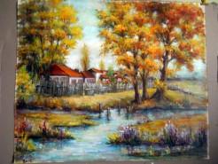 Picturi cu peisaje Amintiri din vacanta