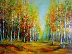 Picturi cu peisaje Mesteceni