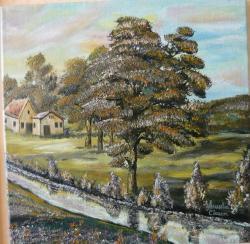 Picturi cu peisaje Lumina de vara