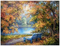 Picturi cu peisaje UN VIS DE TOAMNA