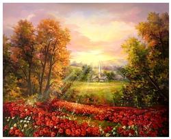 Picturi cu peisaje ZI DE SARBATOARE
