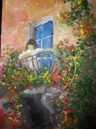 Picturi cu peisaje Contemplare