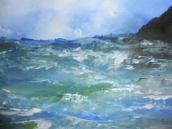 Picturi cu peisaje Furtuna