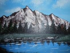 Picturi cu peisaje Popas