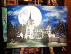 Picturi cu peisaje PeleÈ™ Castel