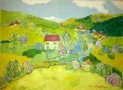 Picturi cu peisaje Casa parintelui laurentiu