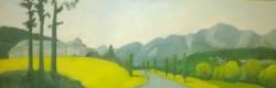 Picturi cu peisaje Castelul cantacuzino