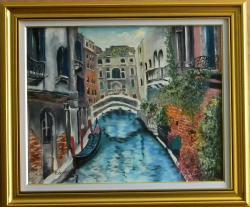 Picturi cu peisaje Canal venetian