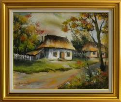 Picturi cu peisaje CASE TARANESTI