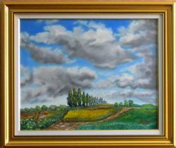 Picturi cu peisaje Coline