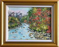 Picturi cu peisaje Din inima muntelui