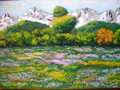 Picturi cu peisaje Doua anotimpuri