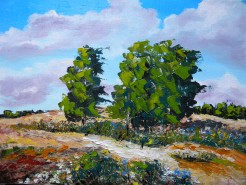 Picturi cu peisaje In bataia vantului