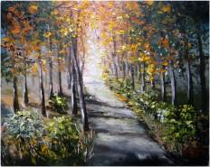 Picturi cu peisaje In lumina lunii