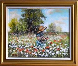 Picturi cu peisaje IN POIANA FLORILOR