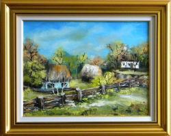 Picturi cu peisaje PEISAJ DIN MARAMURES