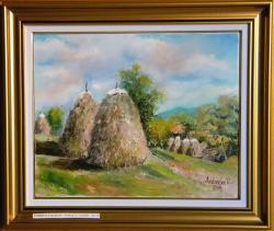 Picturi cu peisaje Peisaj cu capite