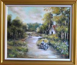 Picturi cu peisaje PEISAJ DE LA DAITA