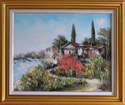 Picturi cu peisaje PEISAJ GRECESC