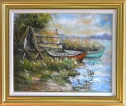 Picturi cu peisaje POPASUL PESCARILOR
