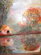 Picturi cu peisaje Reflexii 1