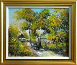 Picturi cu peisaje STRADA DIN FIERBINTI