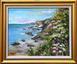 Picturi cu peisaje TARM SALBATIC CU STANCI