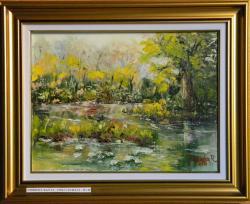 Picturi cu peisaje UNDEVA IN DELTA