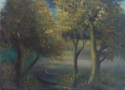 Picturi cu peisaje Clair de lune
