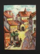 Picturi cu peisaje Sighisoara 1