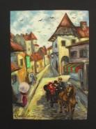 Picturi cu peisaje Sighisoara 2
