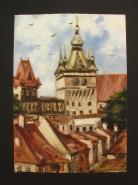 Picturi cu peisaje Sighisoara 7