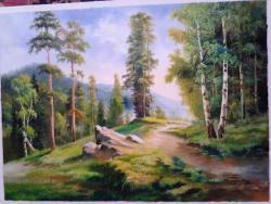 Picturi cu peisaje carare pe munte