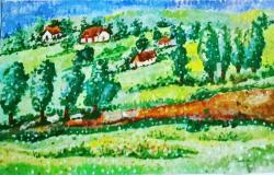 Picturi cu peisaje campie1