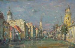 Picturi cu peisaje Bd. 21 decembrie 1989 - 2, Cluj-Napoca