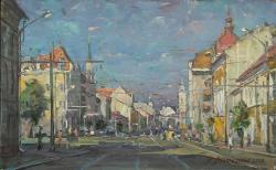 Picturi cu peisaje Bd. 21 decembrie 1989, Cluj-Napoca
