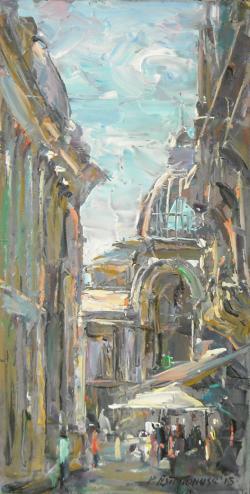 Picturi cu peisaje La Carul cu Bere, Bucuresti