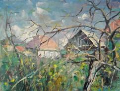 Picturi cu peisaje Peisaj de tara