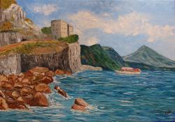 Picturi cu peisaje Peisaj mediteranean