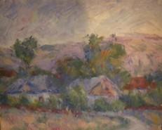 Picturi cu peisaje In marginea satului