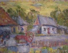 Picturi cu peisaje La fantana