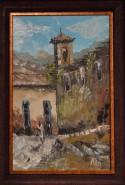 Picturi cu peisaje Casa veche