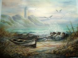 Picturi cu peisaje Farul .