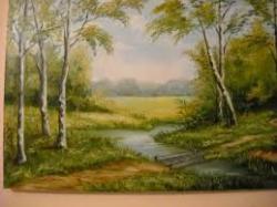 Picturi cu peisaje vara linistita