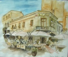 Picturi cu peisaje Strada franceza