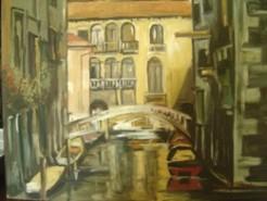 Picturi cu peisaje Venetia 1